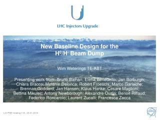 New Baseline  Design for the  H 0 /H - Beam  Dump