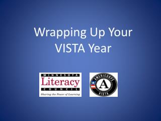 Wrapping Up Your VISTA Year