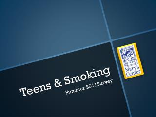 Teens & Smoking