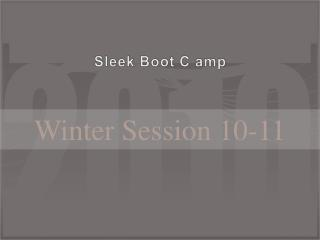 Sleek Boot C amp