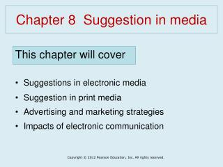 Chapter 8  Suggestion in media