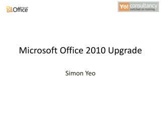 Microsoft Office 2010 Upgrade