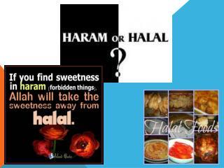 Halal & Haram