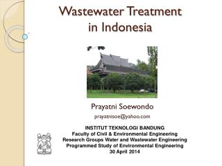 Wastewater Treatment  in Indonesia