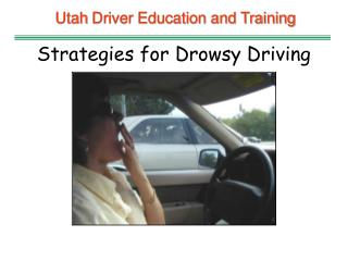 Utah  Driver Education and Training