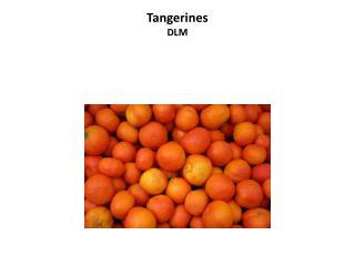 Tangerines DLM