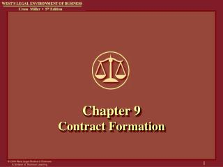 Chapter 9 Contract Formation