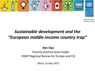 """Sustainable development and the """"European middle-income country trap"""""""