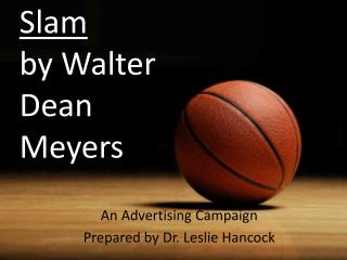 Slam by Walter Dean Meyers