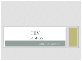 HIV Case 36