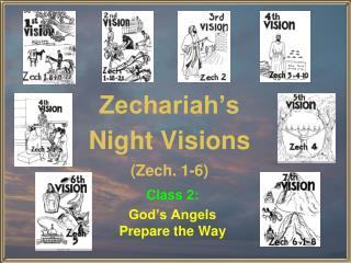 Zechariah�s Night Visions (Zech. 1-6)