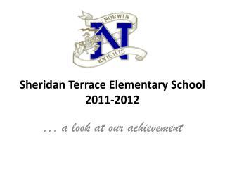 Sheridan Terrace Elementary School 2011-2012