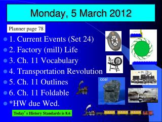 Monday, 5 March 2012