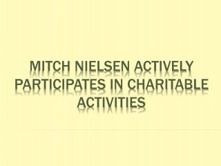 Mitch Nielsen