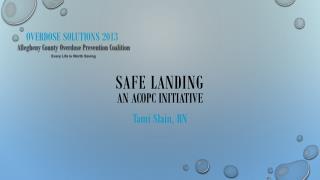 Overdose Solutions 2013