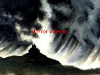 Horror v Terror