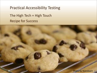 Practical Accessibility Testing