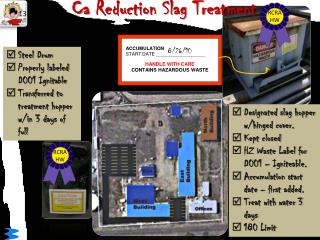 Ca  Reduction Slag Treatment