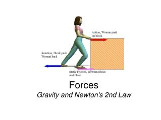 Forces Gravity and Newton's 2nd Law