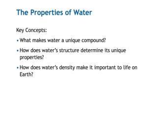 Water: Life- YouTube