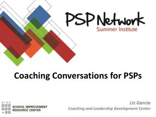 Coaching Conversations for PSPs