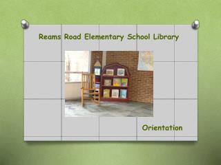 Reams Road Elementary School Library