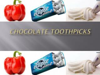 Chocolate Toothpicks