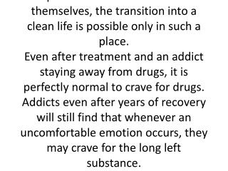 Treatment center and Drug Addiction