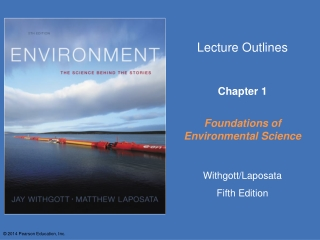 Chapter 1   The Environmental Challenges We Face