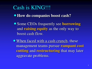 Working Capital Management Chapter 17 A