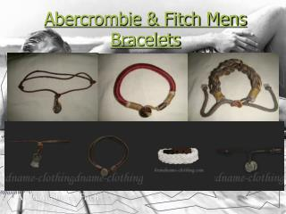 Abercrombie & Fitch Mens Bracelets