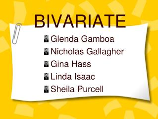 BIVARIATE