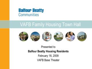 VAFB Family Housing Town Hall