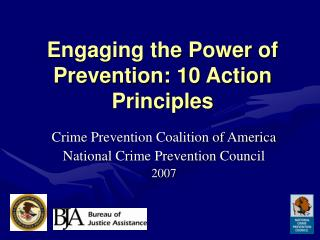 Engaging the Power of Prevention: 10 Action Principles