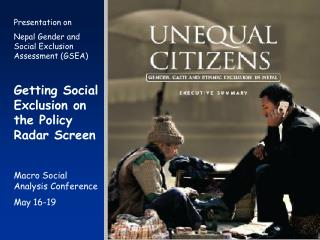 Linking Social Policy Analysis and Action: