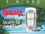 Outdoor Digital Dual-Optic High-Performance PIR