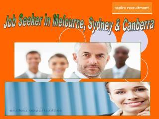 Find a job in Canberra