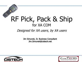 RF Pick, Pack and Ship