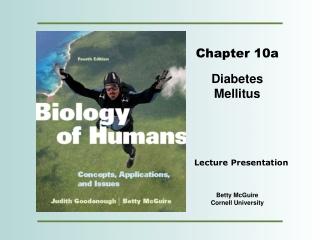Diabetes Lecture Part I