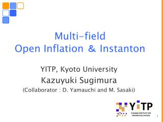 Multi-field  Open Inflation  ? Instanton