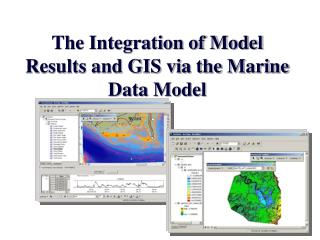 The Integration of Model Results and GIS via the Marine Data Model