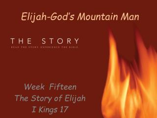 Elijah-God�s Mountain Man