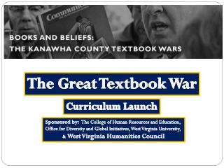 The  Great Textbook War
