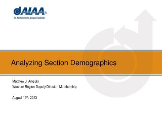 Analyzing Section Demographics