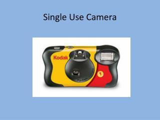 Single  Use Camera