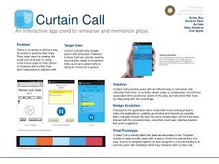 UC Berkeley CS160 Spring 2014 User Interface Design