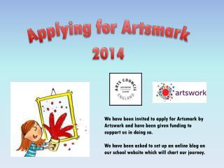 Applying for Artsmark