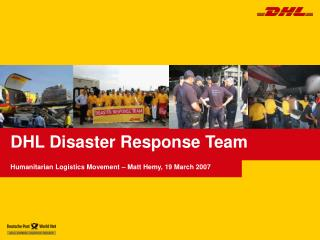 DHL Disaster Response Team