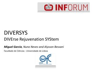 DIVERSYS DIVErse  Rejuvenation  SYStem