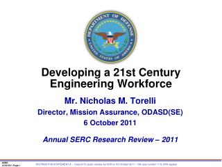 Developing a 21st Century  Engineering Workforce